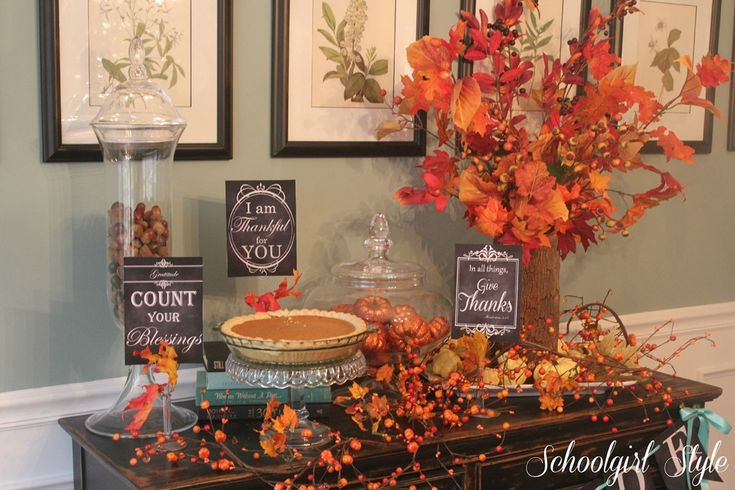 1000 Ideas About Fall Vase Filler On Pinterest Fall Decorating Thanksgiving Decorations And