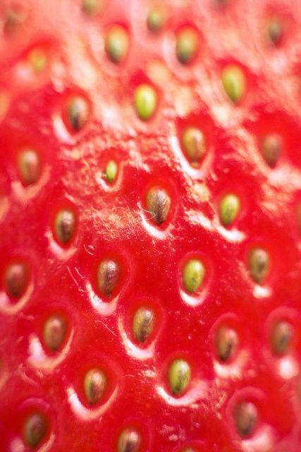 Strawberry Macro Photography by Akira2506, via Flickr