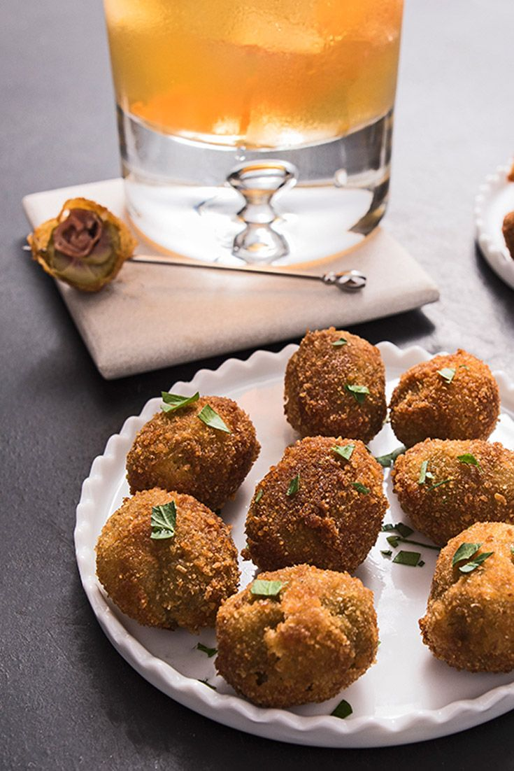 Pair your Negroni with these golden, Italian-inspired bar snacks.