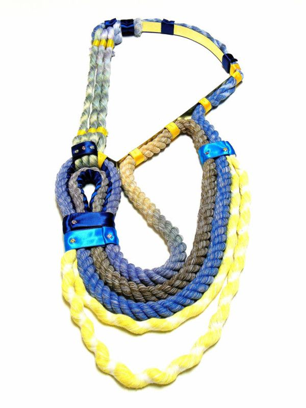 Neon Zinn Rope Jewelry by Seth Damm in style fashion  Category