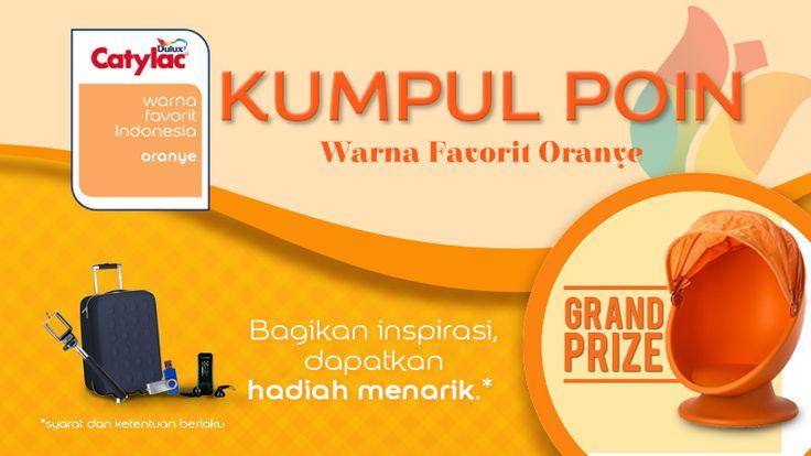 Kumpul Point Warna Favorit Oranye