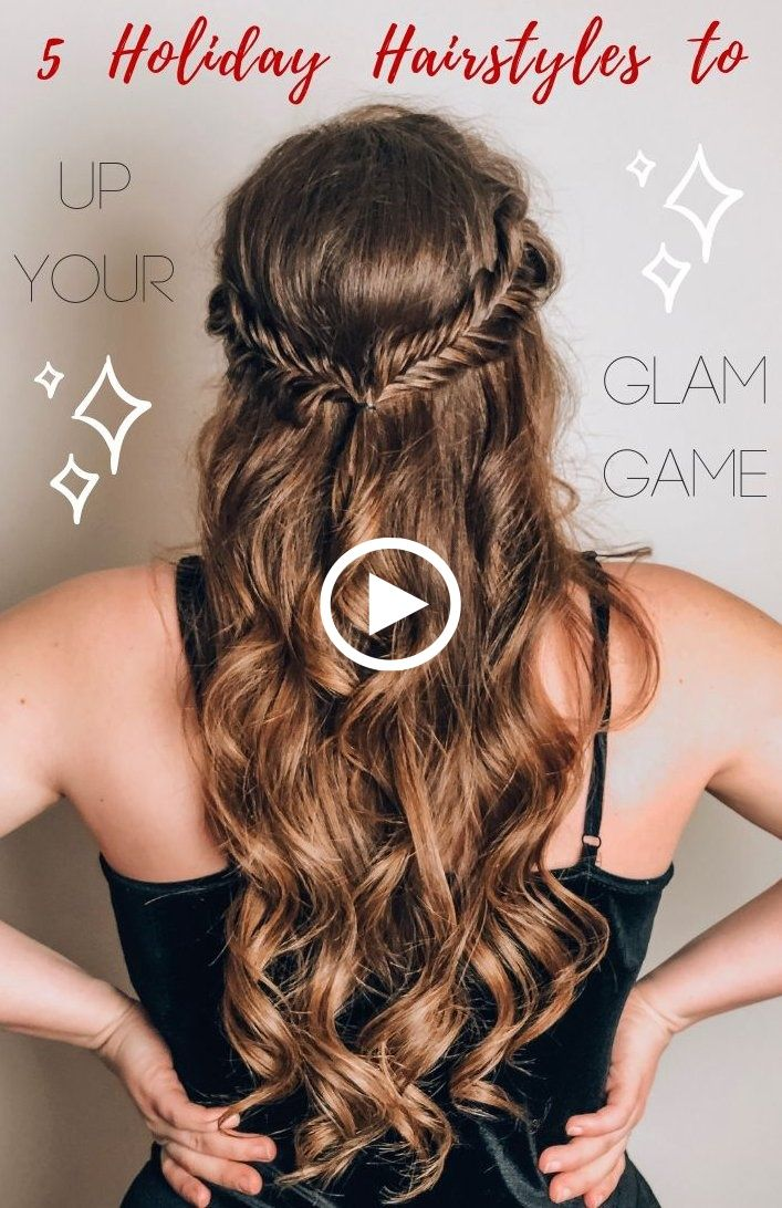 Birthday Party Hairstyles Formal Party Hairstyles Party Hairstyles Ponytail Partyhairstyleseasy C Holiday Hairstyles Hair Styles Easy Party Hairstyles