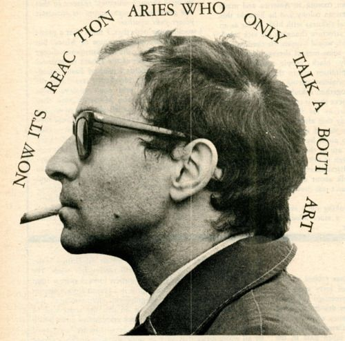 Jean Luc Godard (December 3, 1930) French filmdirector and scenerist (known from the movie 'Alphaville' from 1965).