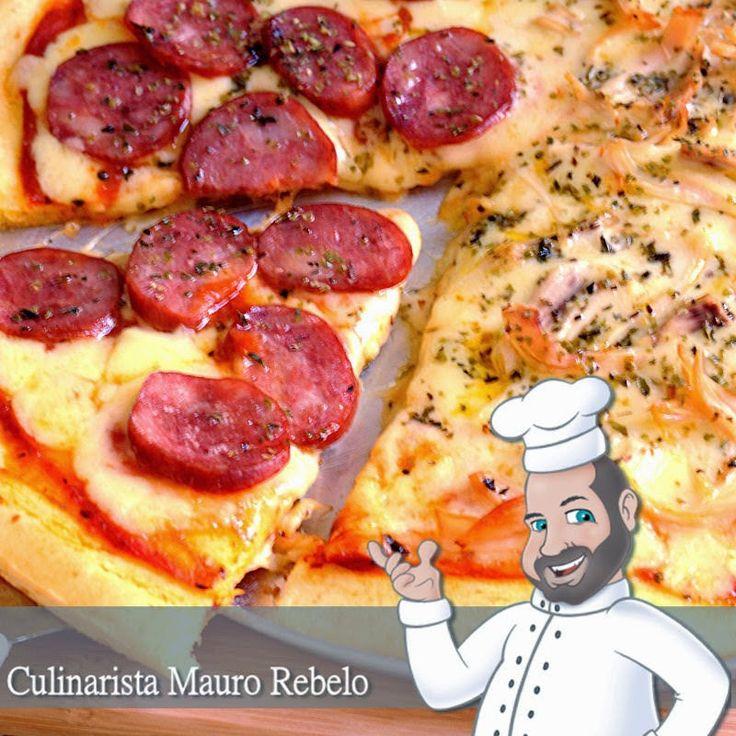Pizza Rápida - Liquidificador - Receita Recipe