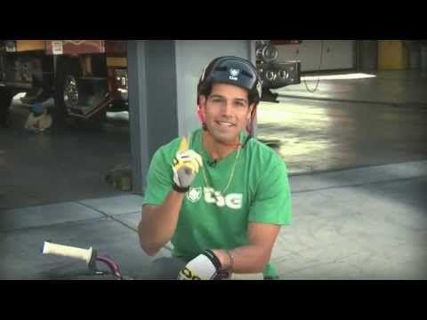 Professional BMX Rider Ricardo Laguna for the Summer Food Service Program.