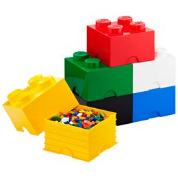 Lego storage - love the color and could put matching colors iside boxes and stack them. I world use them to hold all kinds of toys and stuff.