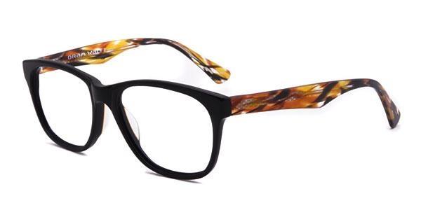 Les Abymes - Black/Brown Eyeglasses