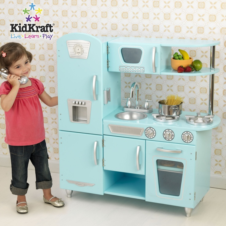KidKraft Blue Vintage Kitchen - for my daughter one day
