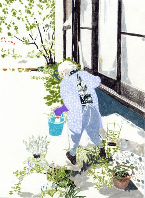 Yuriko Itani (Illustrator danny) 2010 my grandmother