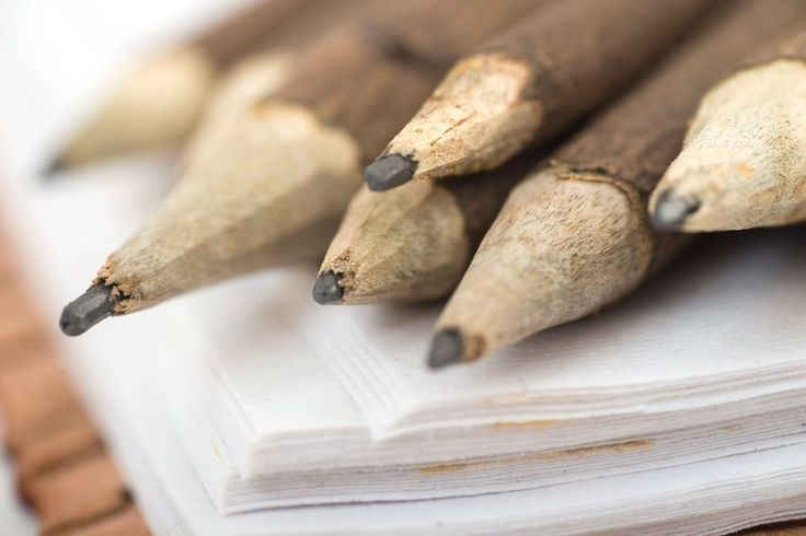 Hand-Crafted Pencil For Leather Journal Diary - Uniquely Natural Wood - Vintage