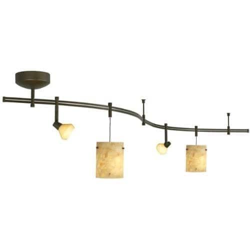 Tech Lighting 800RAL28NXZ Tiella 4 Light Decorative Flexible Track Light Kit - Antique Bronze