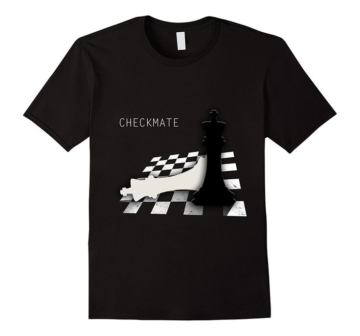 Checkmate Funny T-Shirt Cute Gift For Cool Chess Player