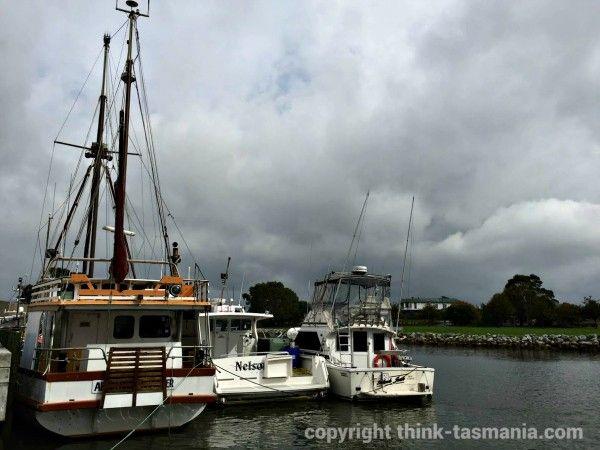 Duck River Wharf, Smithton ~ article and photo for think-tasmania.com ~ #Tasmania #Smithton #boats