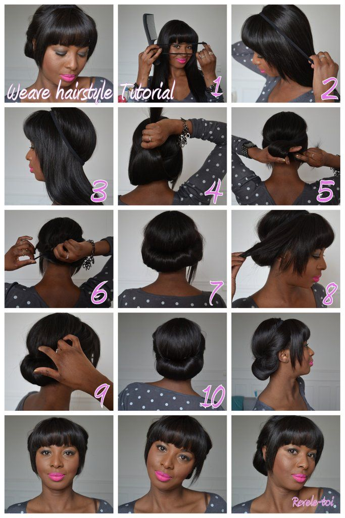 25 Best Weave Hairstyles Images On Pinterest Make Up Looks Hair