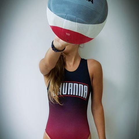 PLAY ON. 💪  Order Custom Polo Suits for your team  this season •  •  •  •  •  •  #mikasa #womenswaterpolo #waterpolo #truwest #huntingtonbeach #madeinusa #custom #swimwear #swim #marketing #instagood #playwomenspolo