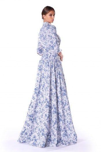 Летнее платье в пол купить в интернет магазине украина