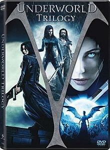 Underworld is a series of vampire/werewolf films directed by Len Wiseman and Patrick Tatopoulos. Each a great movie.