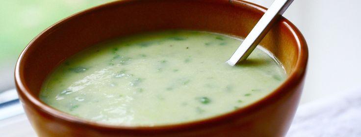 Cremet grøntsagssuppe