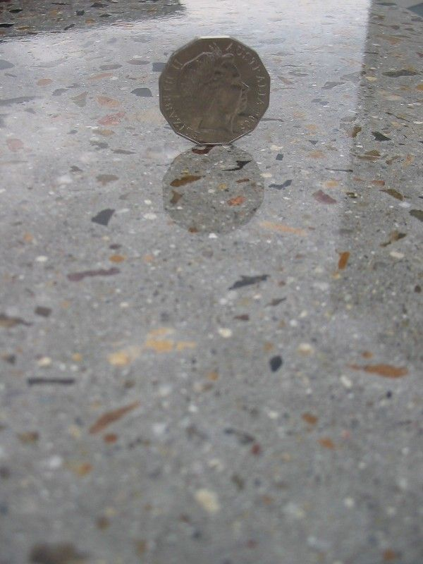 17 best images about polished aggregate floor on pinterest for Best way to polish concrete