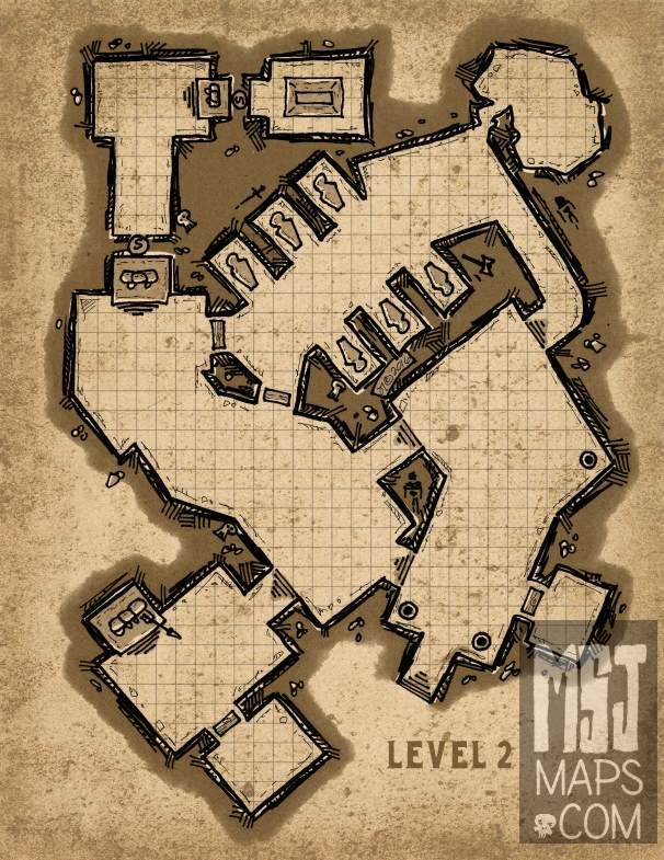 1805 best images about fantasy maps on pinterest for Floor 2 dungeon map