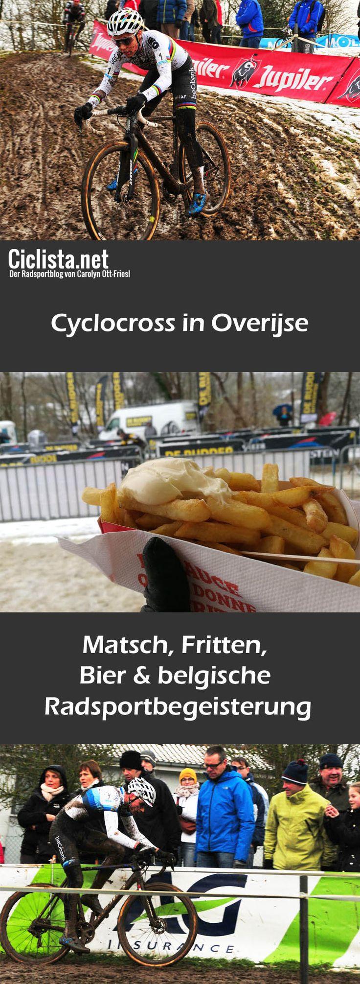 Cyclocross in Belgien - nicht nur ein Radrennen, vielmehr ein Volksfest!  Ich durfte auf Einladung von Bioracer dabei sein beim Druivencross in Overijse. Matsch, Bier, Fritten und richtig viel Radsportbegeisterung!  #Radsport #cyclocross #cycling #blogger #overijse #querfeldein #sport #outdoor #blog #sportblog #fitness