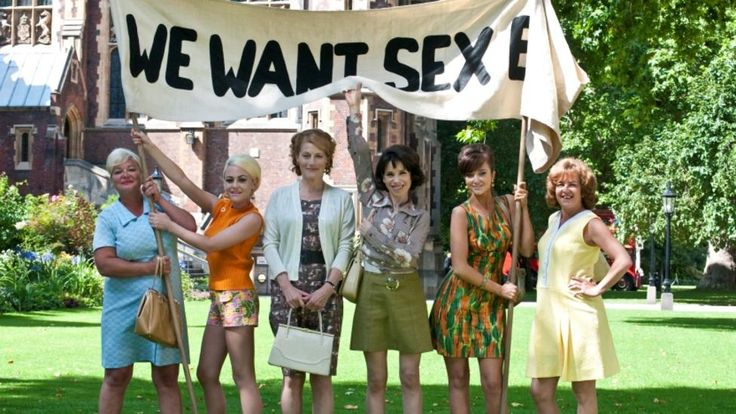 Made In Dagenham, a 2010 production for BBC Films, stars Sally Hawkins, Bob Hoskins, Miranda Richardson, Geraldine James, and Rosamund Pike.