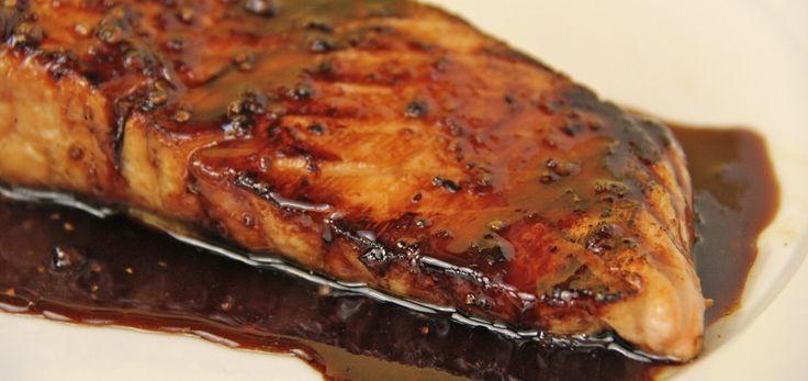Amazing Balsamic Glazed Salmon – Weight Watchers Recipes