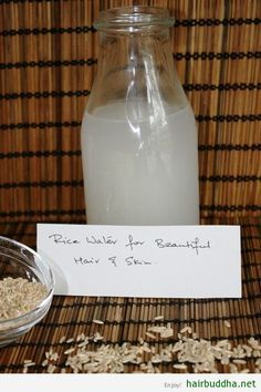 Rice Water For Gorgeous Hair And Flawless Skin: For centuries, Asian women have used rice water to beautify their face, body and hair.