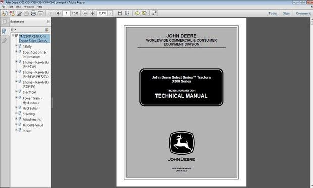 Pin on Heavy Equipment Service and Repair Manual John Deere X Wiring Diagram on