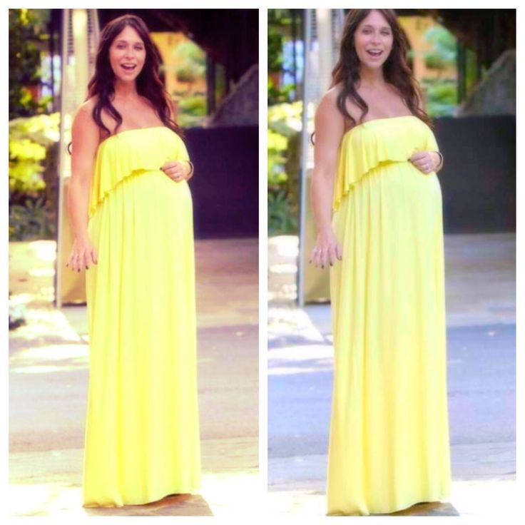 Strapless Maxi Maternity Dress/ Photoshoot Maternity / Baby Shower Dress/ Pregnancy  Dress/ Gender Reveal / Maternity Gown