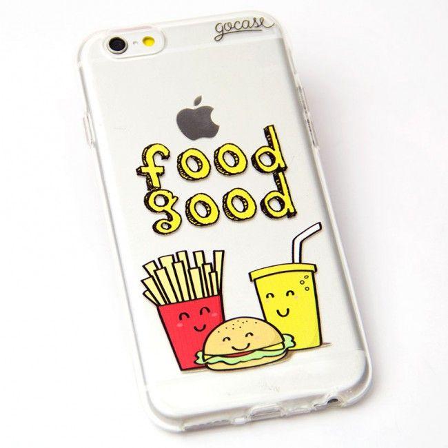 Capinha de celular Food Good para iPhone, Samsung Mais