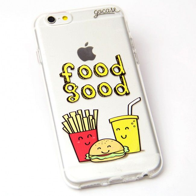 Capinha de celular Food Good para iPhone, Samsung