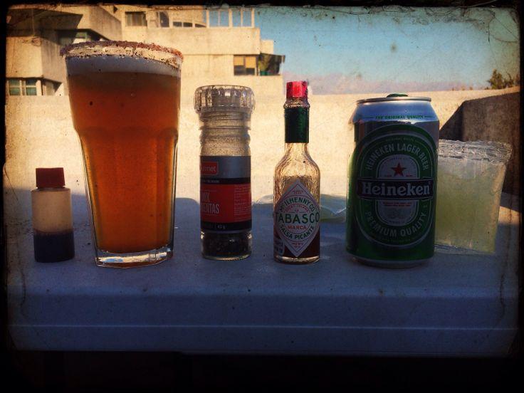Pasando la tarde con Cristi@n, juntó a la bebida del verano!!!