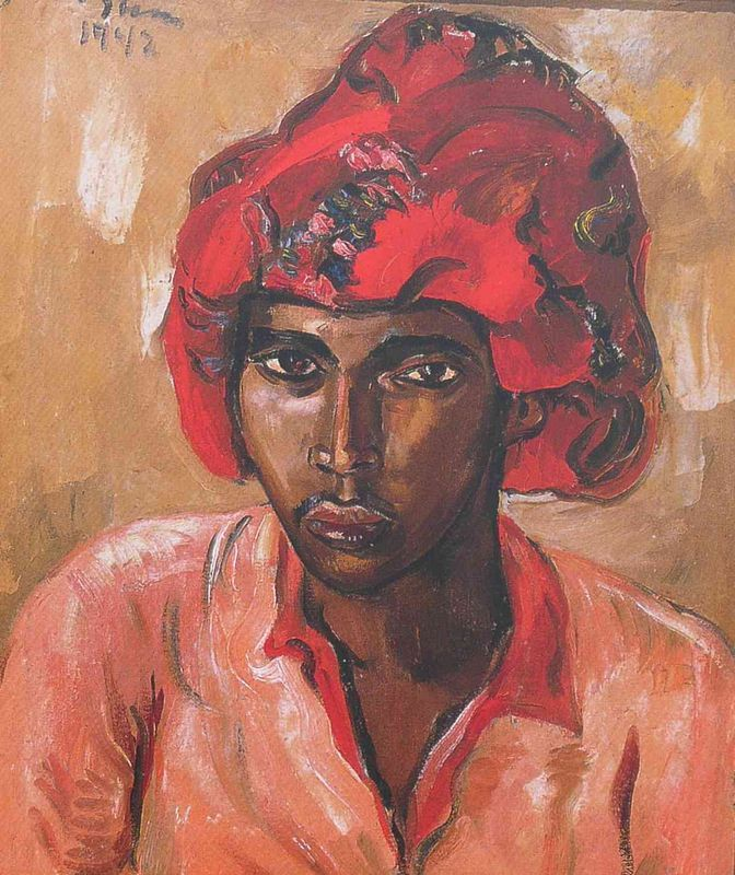 Irma Stern - Young Man in Turban