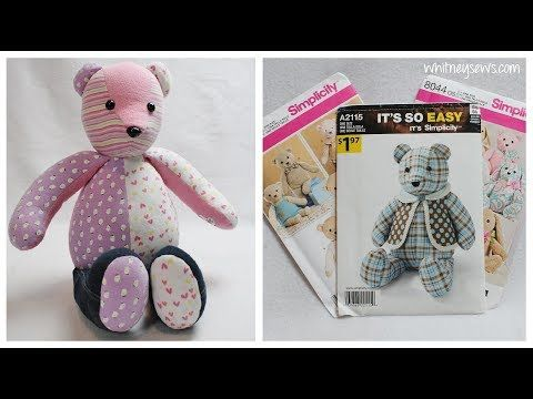 Choosing The Best Memory Bear Pattern Memory Bear Sewing