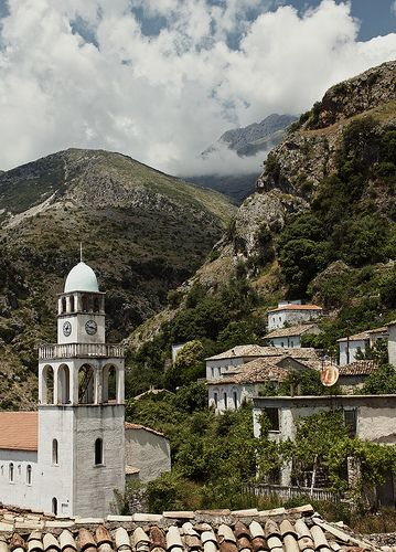 Dhermi, Albania. Dhërmi is one of the 9 villages of the Himara region. The village is built on a slope of the Ceraunian Mountains, at approximately 200 meters in altitude. It is considered by the Albanian youth as a nightlife destination. by Rufux