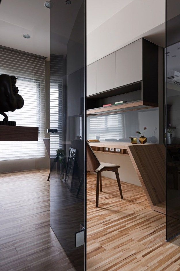 Japanese living in Taiwan by HOZO interior design 07
