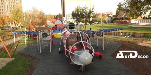 Echipament tematic Avion.Parc de joaca aerospatial.