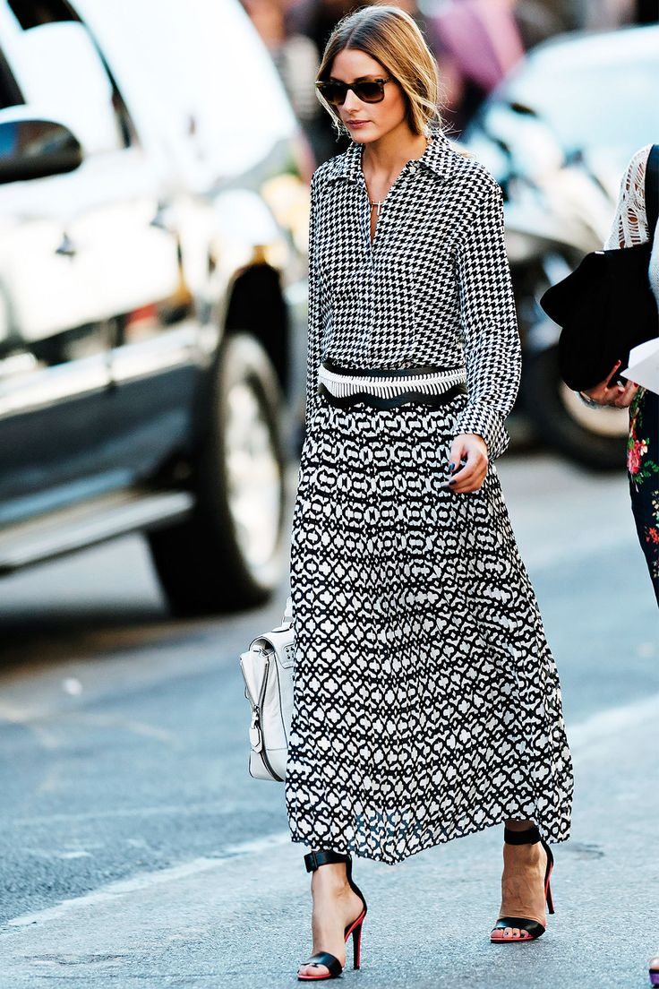 Monochrome Styling Olivia Palermo #NYFW