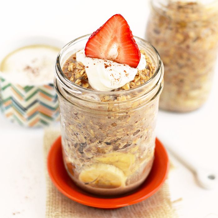Have your french toast and oatmeal too! Make French Toast Overnight Oats for an easy, make-ahead breakfast that's packed with maple and cinnamon flavor!Day two of Overnight Oat Week is all ab...