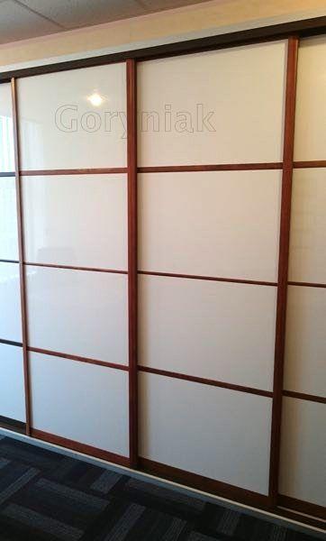 System drzwi Astin Prestige kolor drewna + wypełnienie drzwi dokor połysk