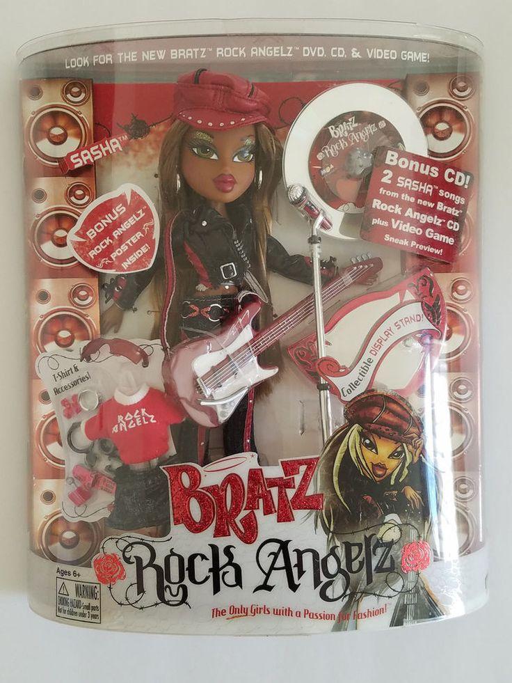 Bratz Rock Angelz Sasha with Hat Original 2005 Version - New in Box | eBay