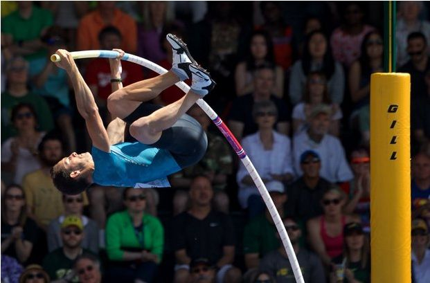 Olympic gold-medalist Renaud Lavillenie tops the pole vault field for the Prefontaine Classic