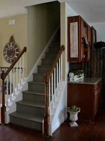how to fix stairs that used to have carpet