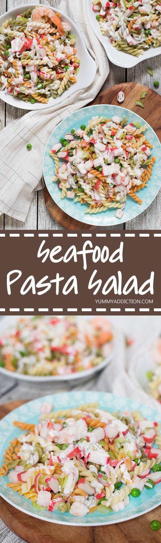 17 Best ideas about Seafood Pasta Salads on Pinterest ...