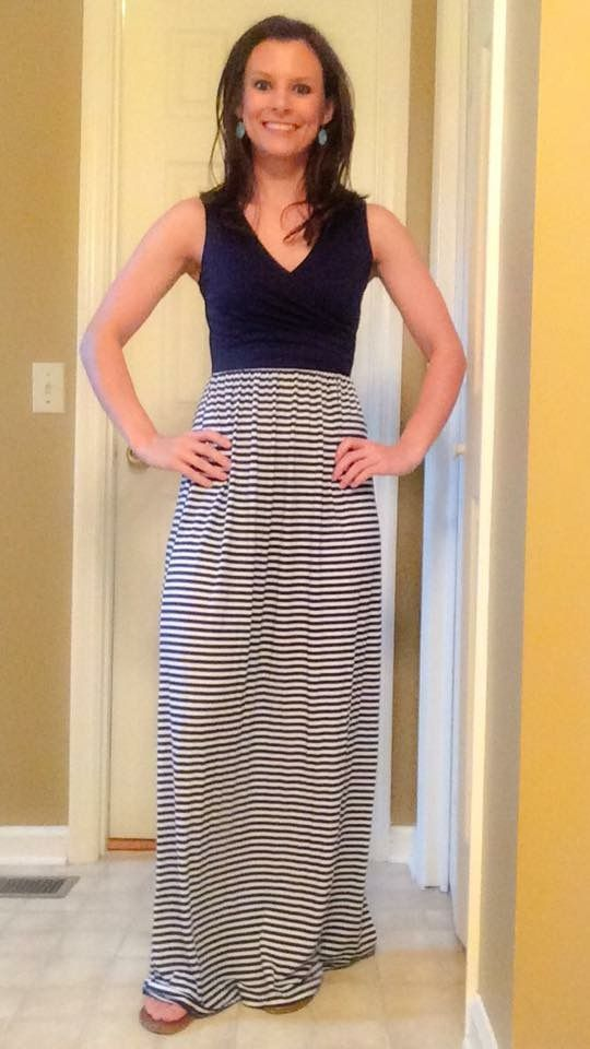 Stitch Fix - I love this for a casual summer night. The top is perfect, but I'm worried the lenght would be too long for this shorty. Gilli Sebastian maxi dress