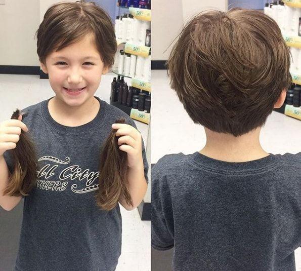 Pin On Child Girl Short Hair