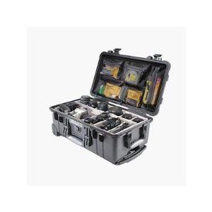 Pelican 1510-004-110 Case with Padded Dividers, Black    Hey, I have to keep my gear safe when I travel and even just around the area!  The Pelican is the BEST case for transporting your expensive gear.  I recommend NOTHING else but this indestructible piece of gear.