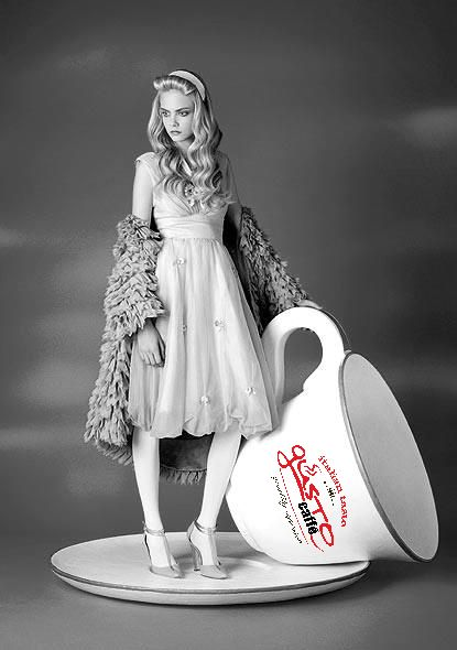 #mini #concept #model #with #big #cup #espresso #gusto visit us: www.gustoproducts.gr
