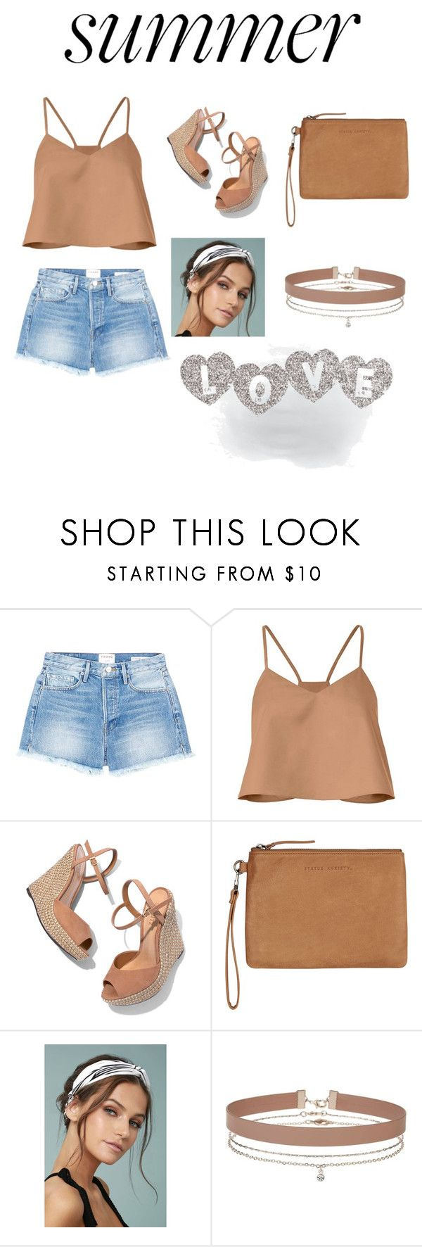 """""""~P.S. i'm in madly in love with you~ ❤"""" by nimaerya ❤ liked on Polyvore featuring Frame, TIBI, Schutz, Status Anxiety, LULUS and Miss Selfridge"""